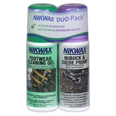ПРЕПАРАТ NIKWAX Footwear Duo Pack Nubuck & Suede