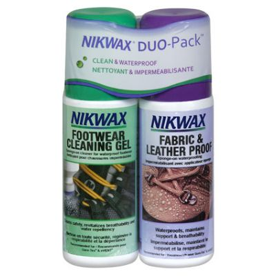 ПРЕПАРАТ NIKWAX Footwear Duo Pack Fabric & Leather